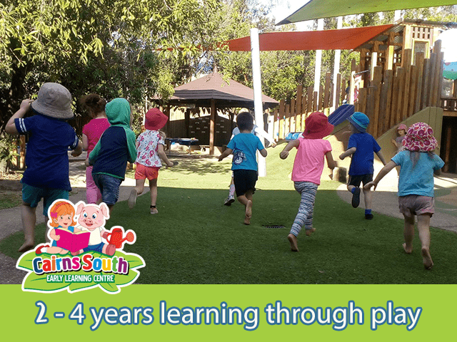 2-4 years learning through play at Cairns South ELC
