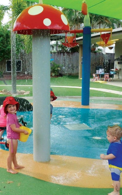 Sun safe water park